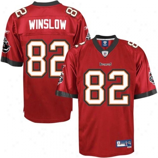 Reebok Tampa Bay Buccaneers Kellen Winslow 82 Red