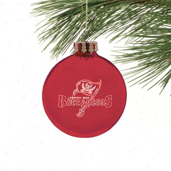 Tampa Bay Buccaneers Lasser Illuminate Ornament