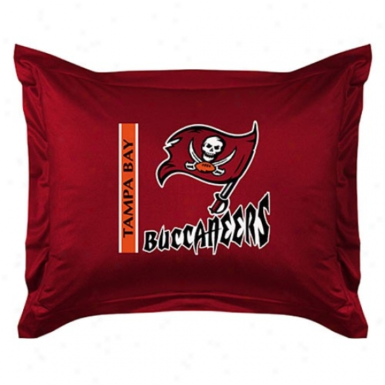 Tampa Bay Buccaneers Locker Room Pillow Sham