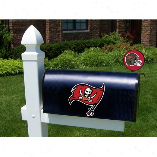 Tampa Bay Buccaneers Mailbox Cover