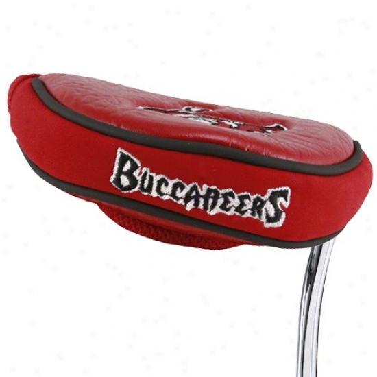 Tampa aBy Buccaneers Mallet Putter Cover