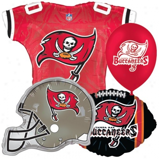 Tampa Bay Buccaneees Party Balloon Set