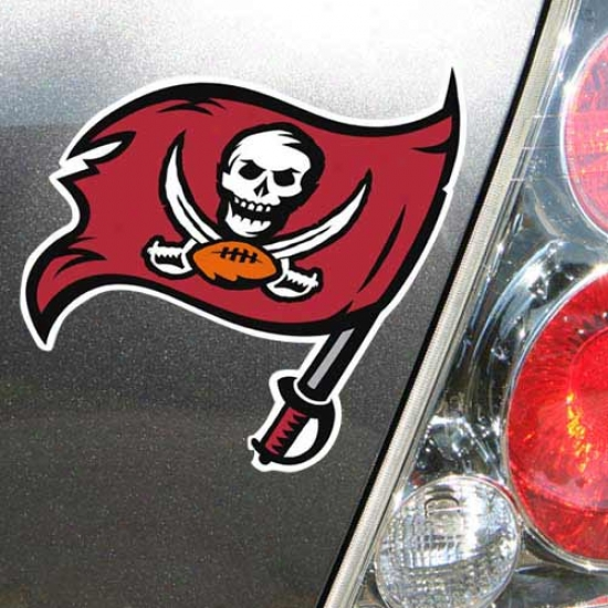 Tampa Bay Buccaneers Pirate Flag Ca rMagnet