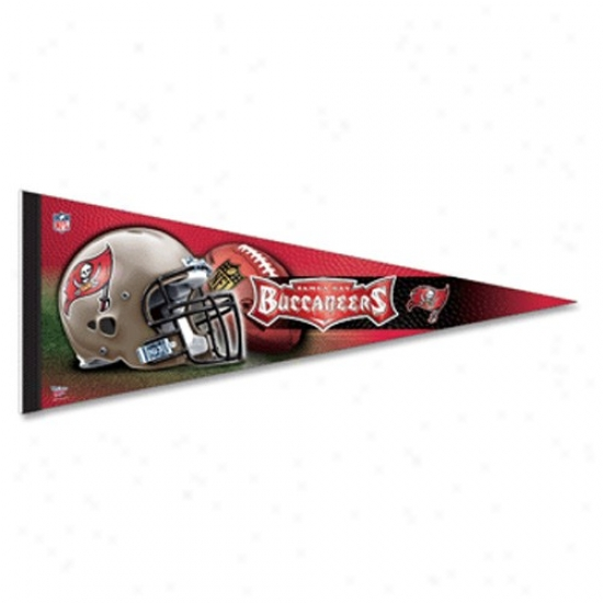 Tampa Bay Buccaneers Red 12'' X 30'' Reward Felt Pennant