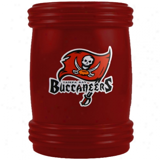 Tampa Bay Buccaneers Red Magnetic Can Coolie