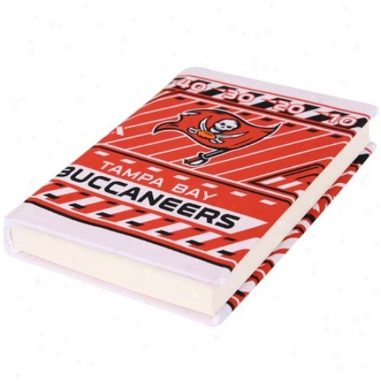 Tampa Bay Buccaneers Stretchable Book Cover