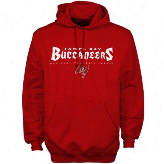 Tampa Bay Buccaneers Sweatshirts : Tampa Bay Buccaneers Red Critical Victory Sweatshirts