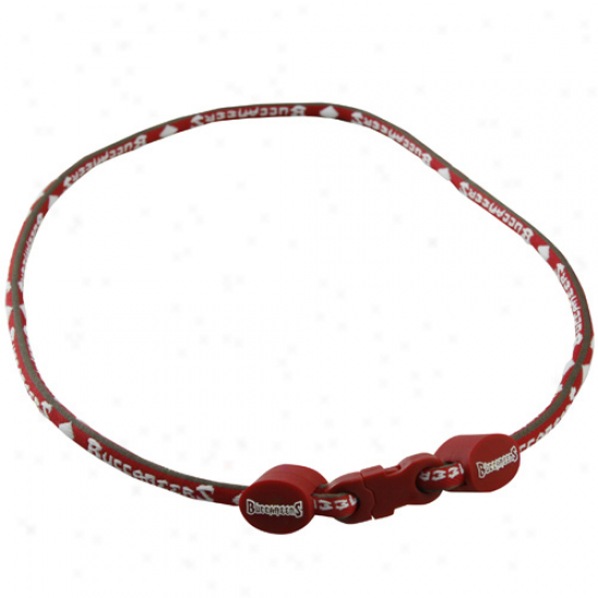 Tajpa Bay Buccaneers Titanium Sport Necklace