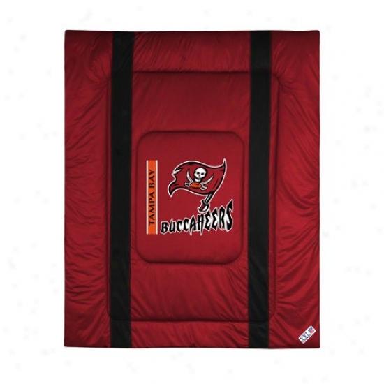 Tampa Bay Buccaneers Twin Size Sideline Comforter