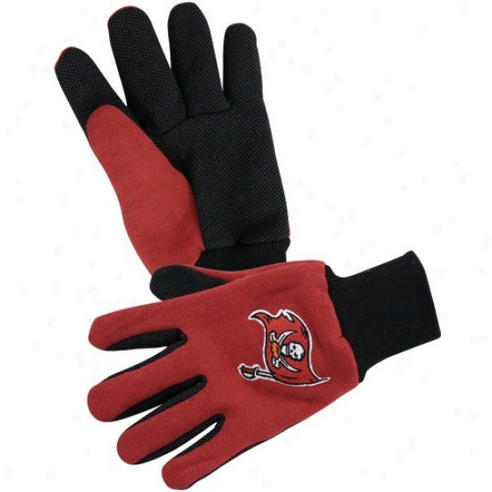 Tampa Bay Buccaneers Two-tone Urility Glovew