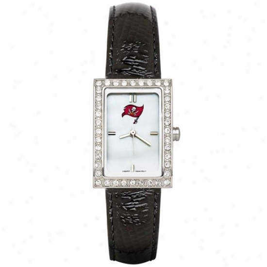 Tampa Bay Buccaneers Watch : Tampa Bay Buccaneers Ladies Black Allure Wake