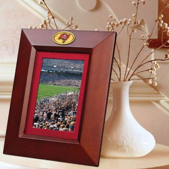 Tampa Bay Buccaneers Wooden Vertical Picture Form