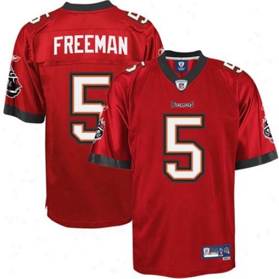 Tampa Bay Bjcs Jersey : Reebok Josh Freeman Tampa Bay Bucs Premiere Tackle Twill Jersey - Red