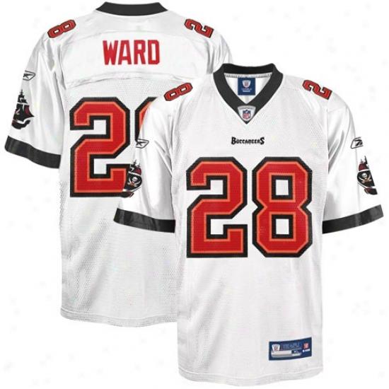 Tampa Bay Bucs Jersey : Reebok Nfl Accoutrement Tampa Bay Bucs #28 Derrick Ward Youth White Replica Football Jersey