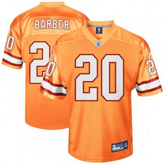 Tampa Bay Bucs Jersey : Reebok Nfl Equipment Tampa Bay Bucs #20 Ronde Barber 1976 Throwback  Replica Football Jersey