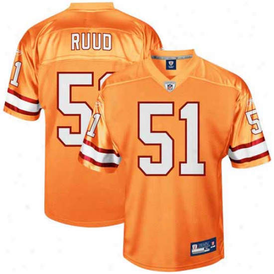 Tampa Bay Bucs Jerseys : Reebok Barrett Ruud Tampa Bay Bucs Youth Throwback Replica Jerseys - Orange Glaze