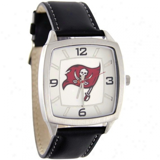 Tampa Bay Bucs Wrist Watch : Tampa Bay Bucs Retro Wrist Watch W/ Leather Band