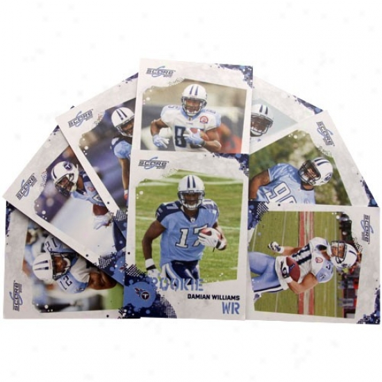 Tennessee Titans 2010 Team Set