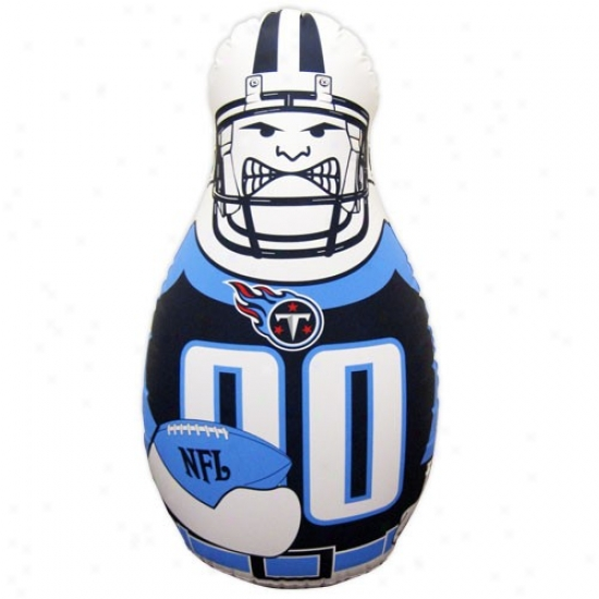 Tennesser Titans 40'' Inflatable Tackle Buddy Punching Bag