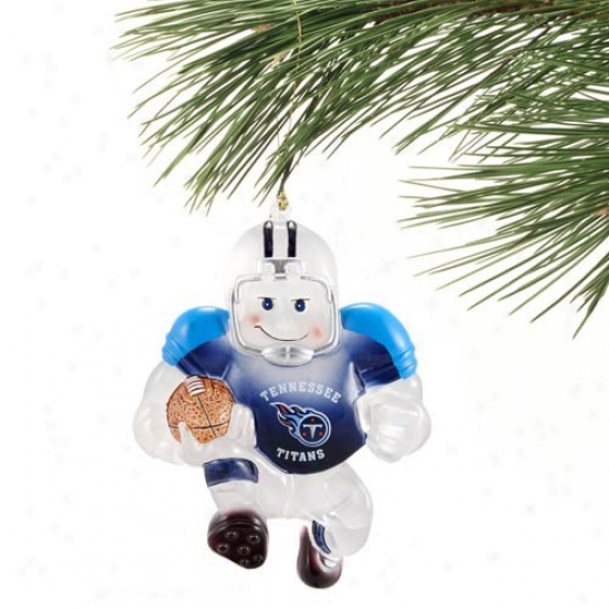 Tennessee Titans Acrylic Holiday Ornament