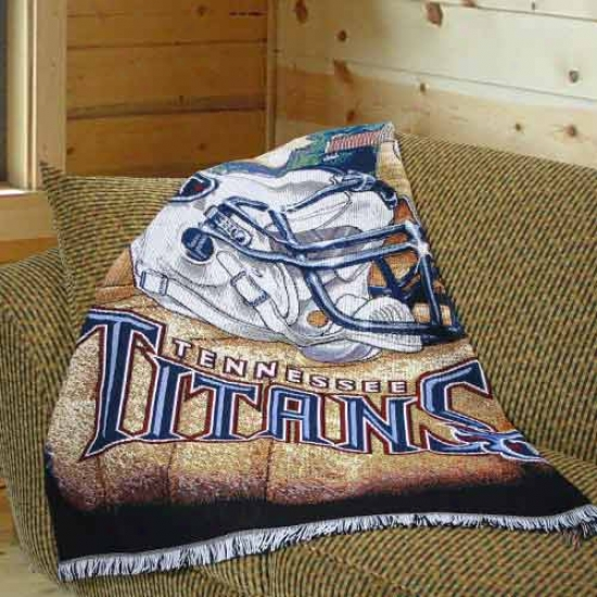 Tennesdee Titans Acr6lic Tapestry Throw Blanket