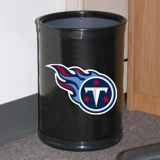 Tennessee Titans Dark Team Wastebasket