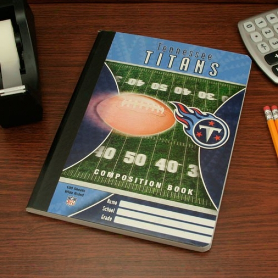 Tennessse Titans Composition Book