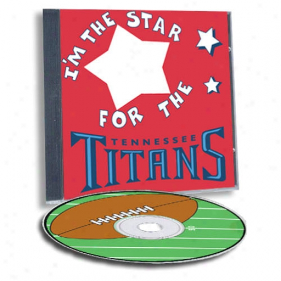 Tennessee Titans Game Hero Custom Sports Cd