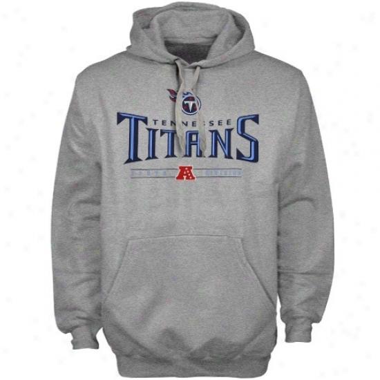 Tennwqsee Titans Hoodies : Tennessee Titans Ash Critical Victory Iv Hoodies