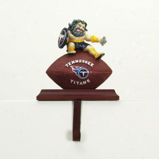 Tennessee Titans Mascot Stocking Hanger