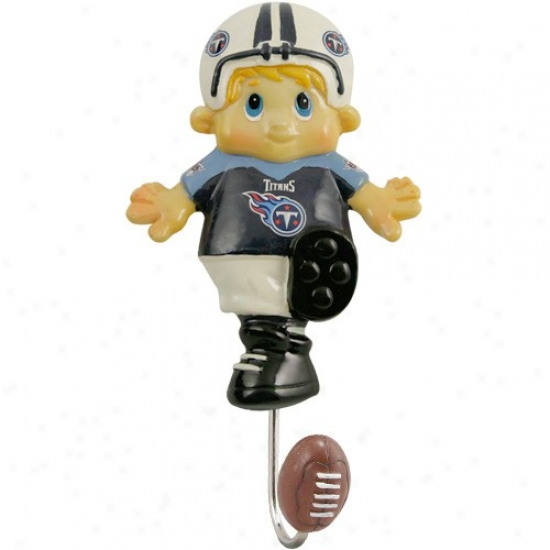 Tennessee Titans Mascot Wall Hook