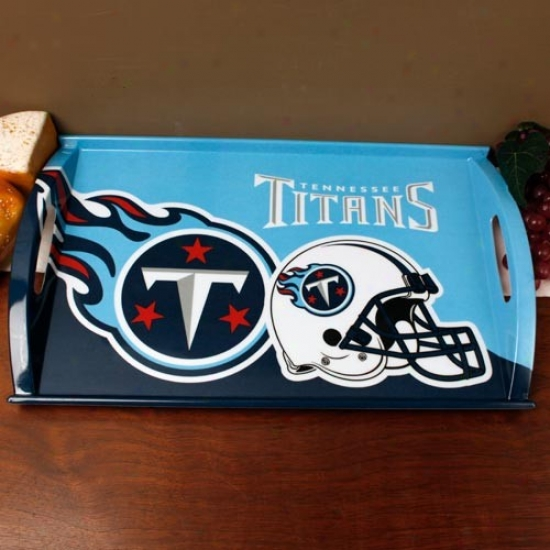 Tennessee Titans MelamineS erving Tray