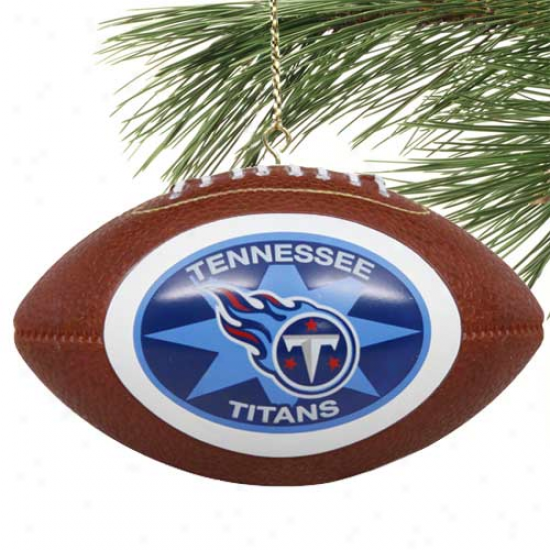 Trnnessee Titans Mini-replica Football Embellishment