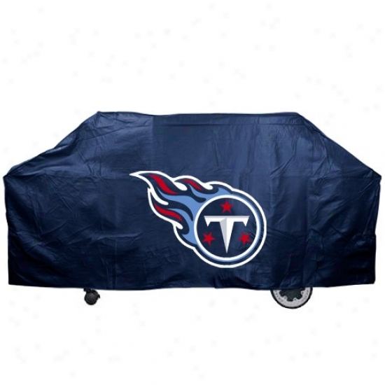 Tennessee Titans Navy Blue Grill Cover