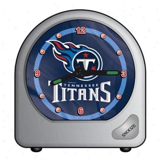 Tennessee Titans Plastic Alarm Clock