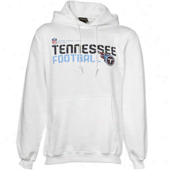 Tennessee Titans Sweat Shirt : Reebok Tennessee Titans White Sideline Tacon Sweat Shirt Pullover Sweat Shirt