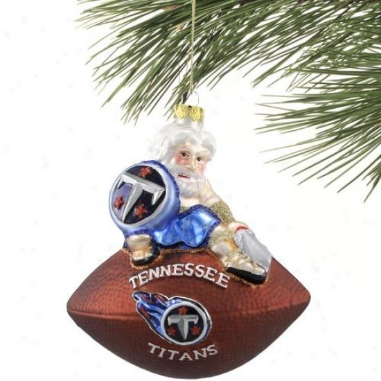 Tennesses Titans Team Spirit Ornament