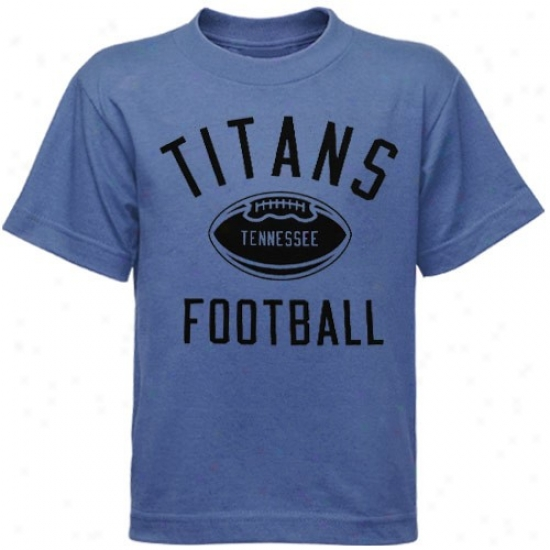 Tennessee Titans Tees : Reebok Tennessee Titans Light Blue Preschool Workout Tees