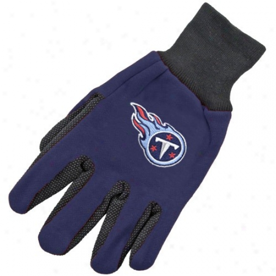 Tennessee Titans Two-tone Utility Gloves