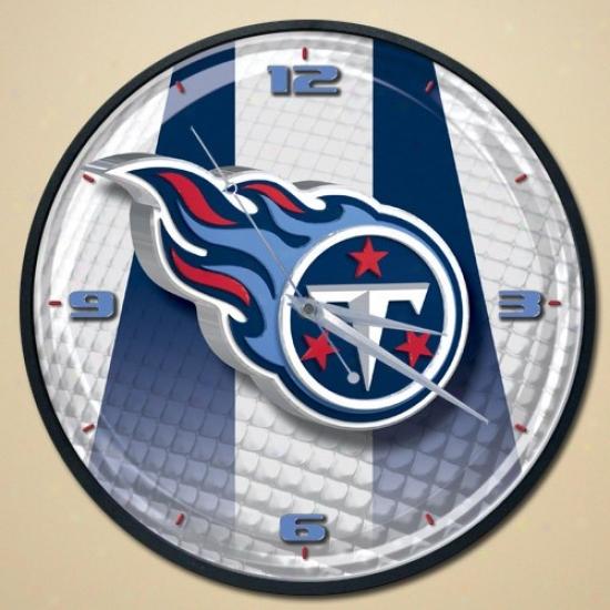 Tennessee Titans Wall Clock