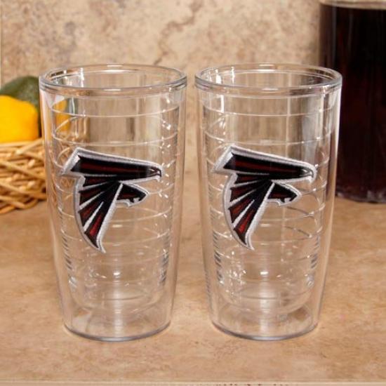 Tervis Tumbler Atlanta Falcons 2-pack 16oz. Team Logo Tujbler Cups