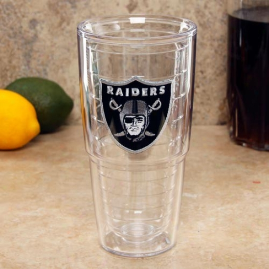 Tervis Tumbler Oakland Raiders 24oz. Team Logo Tall Tumbler Cup