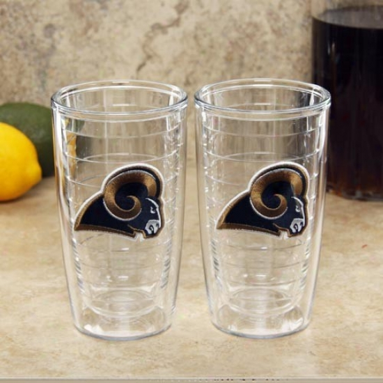 Tervis Tumbler St. Louis Rams 2-pack 16oz. Team Lpgo Tumbler Cups