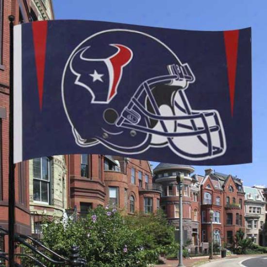 Texans Banner : Texans Premium 3' X 5' Bnner