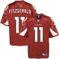 Az Cardinal Jersey : Reebok Nfl Equipment Az Cardinal #11 Larry Fitzgerald Youth Cardinal Youth Premier Harness Twilk Football Jersey