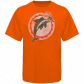 Miami Dolphinw Shirts : Reebok Miami Dolphins Youth Orange Retro Logo Shirts