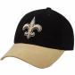 New Orleans Saint Hat : Reebok New Orleans Saint Black-gold Brushed Cotton Adjustable Hat