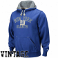 New York Giant Sweatshirts : Reeebok New York Giant Royal Blue Vintzge Pullover Sweatshirts