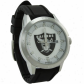 Oaklnad Raiders Watches : Oakland Raidres Black Polyurethane Tie Watches