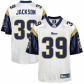 Rams Jerseys : Reeboo Stevne Jacmson Rams Replica Jerseys - White